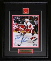 Nicklas Lidstrom Detroit Red Wings Signed 8x10 NHL Hockey Collector Frame