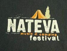 Nateva 2010 Further Moe Grateful Dead Music Festival Tour Staff T Shirt Medium M