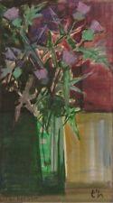 Jacques GAUTIER dit TAL'HOUARN (1902-1995) HsP Bouquet fleurs Expressionnisme