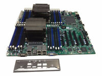 Supermicro X9DRi-LN4F+ Ver 1.20 Motherboard 2x E5-2620 2.0GHz 6Core CPU 8GB DDR3