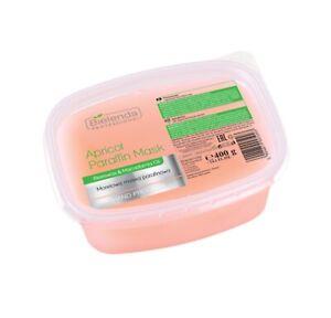 Bielenda Paraffin Wax Mask Apricot for Hands Bath Feet with Macadamia Oil 400g