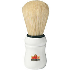 OMEGA White 10049 Professional 100% BOAR Bristles Shave Brush -  Made In Italy