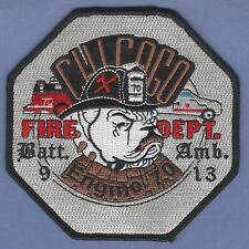 CHICAGO FIRE DEPARTMENT ENGINE COMPANY 70 PATCH