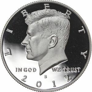 2012 S SILVER Proof Kennedy Half Dollar