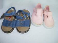 Lot 2 Pairs Baby Girls NWOT Shoes Size 2 Pink Kid Connection & Blue McKids
