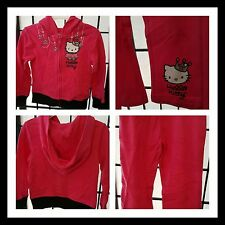 HELLO KITTY 3T, 2 PIECE  PINK LEGGING SET,TODDLER, GIRL HOODED  JACKET