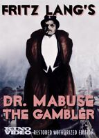 Dr. Mabuse the Gambler, Parts 1 and 2 [New DVD] Black & White, Restored, Silen