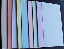 Carte A4-Lot de 40 feuilles assorties couleurs pastel