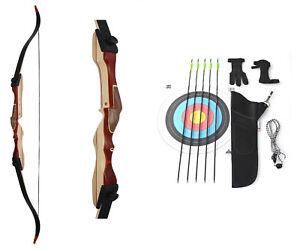 Recurvebogen Starterset Bogensport Einsteigerset Ragim Wildcat Plus