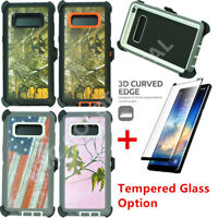 For Samsung Galaxy Note 8 Defender Camo Case Cover(Clip Fits Otterbox)