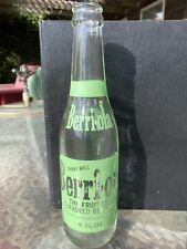 Vintage Berri-ola, Choc-ola Bottlers. 9 Fluid Ounces, Clear Glass Green