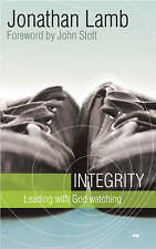 Integrity: Leading with God Watching, Good Condition Book, Jonathan Lamb, ISBN 9