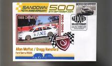 ALLAN MOFFAT1988 SANDOWN WIN COVER, FORD SIERRA RS500