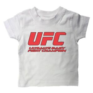 ULTIMATE BABY FIGHT CHAMPION UFC T shirt months Boxing