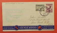 Dr Who 1939 Newfoundland Canada First Flight Paa Botwood To Gb C219263