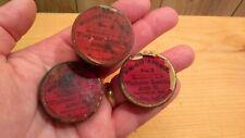 antique Winchester primer tins lot of 3 1878 pat. dates No. 2 primers