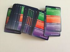 TV Mania Trivia Quiz Game 50 Replacement Cards Only