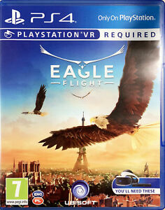 PS4 PSVR Eagle Flight EU English version CUSA04876 VR Required Video Game
