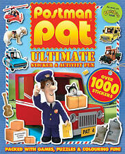 NEW  POSTMAN PAT  ULTIMATE STICKER & ACTIVITY book over 1000 STICKERS