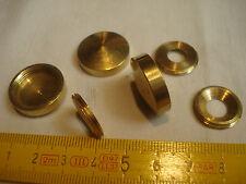 2 cache vis conique 22 mm laiton poli (réf LA22C)