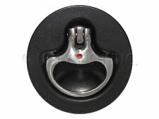 Orcas Marine M5-81-000-3, D-Handle, Black and Stainless, Compression Latch