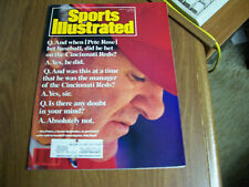 Sports Illustrated 1989 Pete Rose Gambling Cover