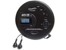 Supersonic SC-253 40 Sec Anti-Shock Personal MP3/CD/FM Radio Player +Headphones