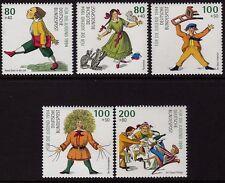Germania 1994 gioventù benessere Heinrich Hoffmann SG 2568-2572 MNH