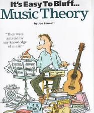 It's Easy to Bluff Music Theory-ExLibrary