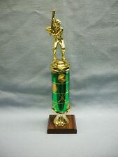 male Baseball trophy award theme column green balls