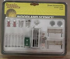 O scale STREET ACCESSORIES Woodland Scenics  2764