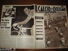 IL CALCIO E CICLISMO ILLUSTRATO 1959/39=MILAN ROMA=RONCHINI=VINICIO=