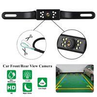 9 LED Night Vision Car Rear View Reverse Backup HD Camera Waterproof 12V COMS