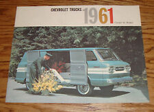 Original 1961 Chevrolet Truck Corvair 95 Models Sales Brochure 61 Chevy