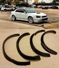 2005 Subaru Impreza WRX STi Widebody Over Fender Wheel Flare Kit
