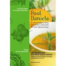 Post Daniela z uzdrawiajaca dieta dr Ewy Dabrowskiej, polish book,polska ksiazka