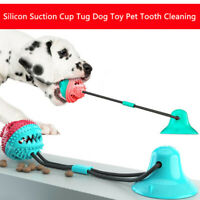 1Pc Pet Silicon Suction Cup Tug Dog Push Ball Toy Pet Tooth Cleaning Toothbr Tl