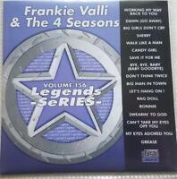 LEGENDS KARAOKE CDG FRANKIE VALLI & THE 4 SEASONS OLDIES #156 17 SONGS CD+G