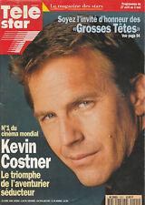 Télé Star N°1021 - Kevin Costner - Mickey Rourke - Dalida - Antoine Dulérhy - Pa