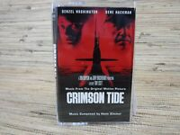 Cassette Tape CRIMSON TIDE Movie Music From Original Motion Picture Soundtrack