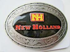 New Holland belt buckle tractor farming