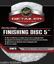 "Meguiars DMF5 DA Microfiber Finishing Pad 5"", 2-Pack"