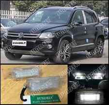 White Error Free LED Trunk Cargo Area Lamp For VW Polo 2005-2015 2006 2007 2008