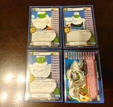 DBZ CCG Dragon Ball Z Piccolo Personality Set from Buu Saga DBGT TCG Score
