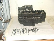 1995 Kawasaki ZX11D matched engine case halves and bolts.