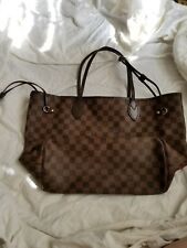 louis vuittons handbags neverfull mm damier