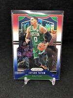 2019-20 Prizm Jayson Tatum Red White Blue Prizm Card #39 Boston Celtics D93