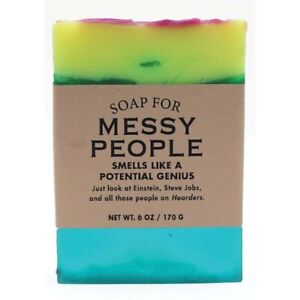 Clean Scented 6oz Handmade Soap For Messy People Smells Like Unopened Mr. Clean