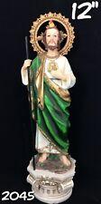 "San Judas Tadeo 12"" Religion & Spirituality New- Statue of Saint Jude"
