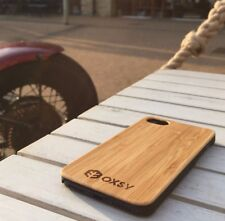 iPhone 7 Wood Case - Bamboo OXSY